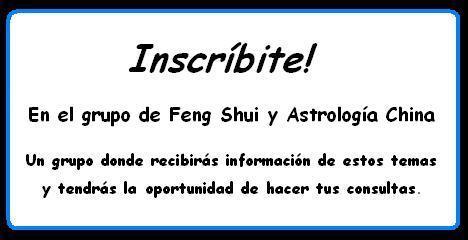 Lista abierta de astrolog a y feng shui astrolog a china - Estudiar feng shui ...