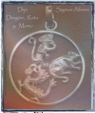 Signos Afines Dragon Rata Mono
