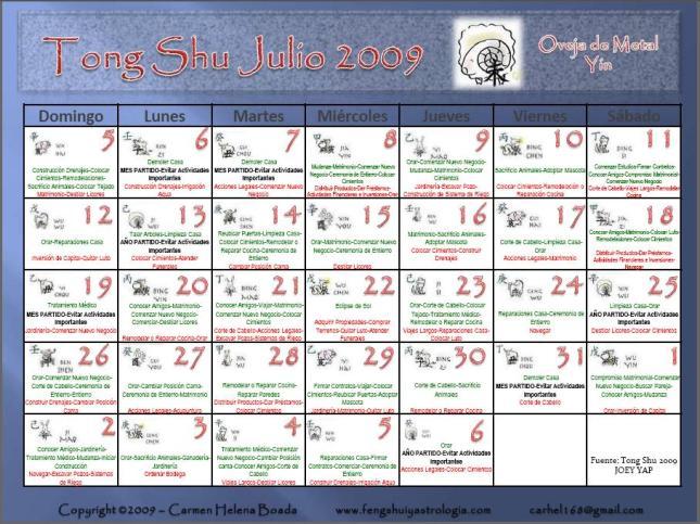 Tong Shu Julio 2009