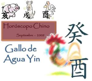 Horóscopo Chino Septiembre Signos Cerdo, Perro y Gallo