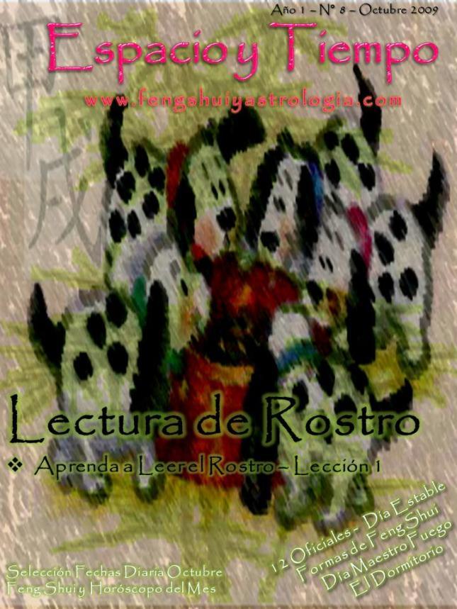Portada Revista Espacio y Tiempo Octubre 2009