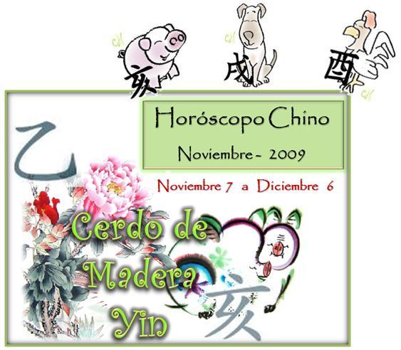 Horóscopo Cerdo Perro y Gallo