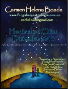 Horóscopo Chino Diciembre 2013